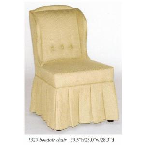 Skirted Wing Chair Image