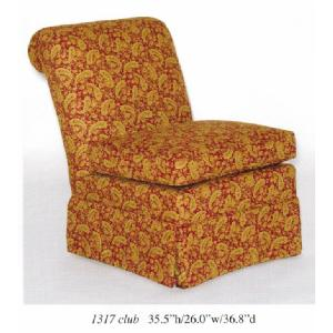 Skirted Slipper Chair Image